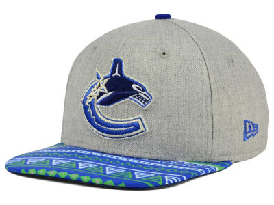 Vancouver Canucks New Era NHL Neon Mashup 9FIFTY Snapback Cap