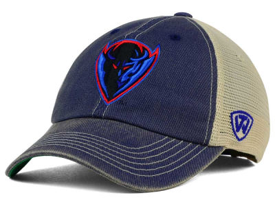 DePaul Blue Demons Top of the World NCAA DP Vintage Mesh Snapback Cap