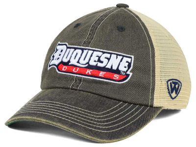 Duquesne Dukes Top of the World NCAA DP Vintage Mesh Snapback Cap