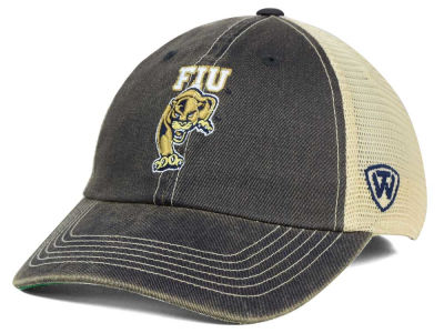 Florida International Golden Panthers Top of the World NCAA DP Vintage Mesh Snapback Cap