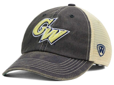 George Washington Colonials Top of the World NCAA DP Vintage Mesh Snapback Cap