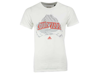 Louisville Cardinals adidas NCAA Men's Uncaged Grift & Gloves T-Shirt