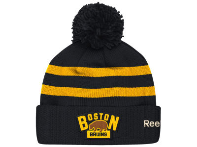 Boston Bruins Reebok NHL 2016 Winter Classic Goalie Pom Knit