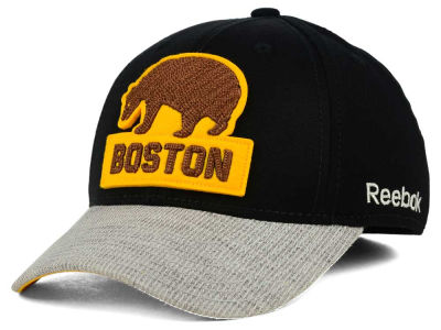 Boston Bruins Reebok NHL 2016 Winter Classic Coaches Flex Cap