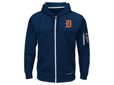 Detroit Tigers MLB Men's Payback Moment Full Zip Fleece Hoodie