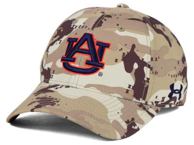 Auburn Tigers Under Armour NCAA Camo Stretch Cap