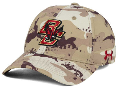 Boston College Eagles Under Armour NCAA Camo Stretch Cap