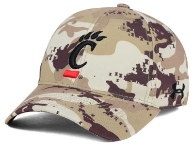 Cincinnati Bearcats Under Armour NCAA Camo Stretch Cap