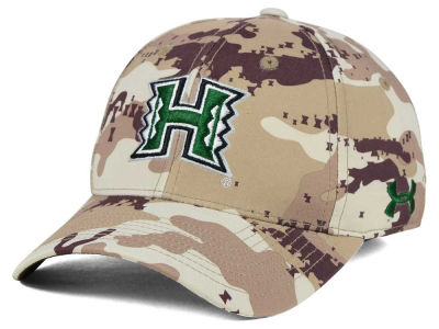 Hawaii Warriors Under Armour NCAA Camo Stretch Cap