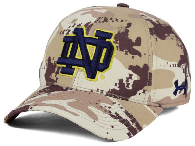 Notre Dame Fighting Irish Under Armour NCAA Camo Stretch Cap