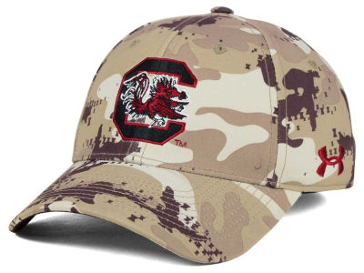 South Carolina Gamecocks Under Armour NCAA Camo Stretch Cap