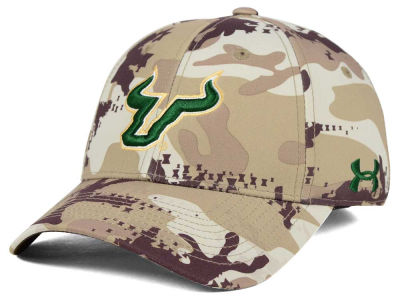 South Florida Bulls Under Armour NCAA Camo Stretch Cap