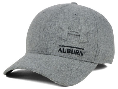 Auburn Tigers Under Armour NCAA Grayout Stretch Cap