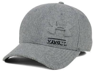 Hawaii Warriors Under Armour NCAA Grayout Stretch Cap