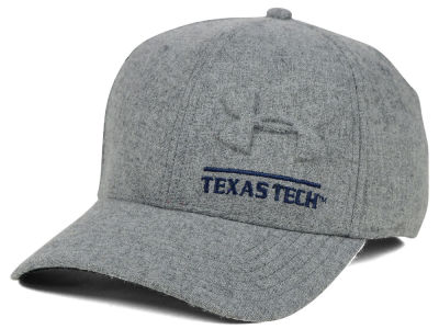 Texas Tech Red Raiders Under Armour NCAA Grayout Stretch Cap