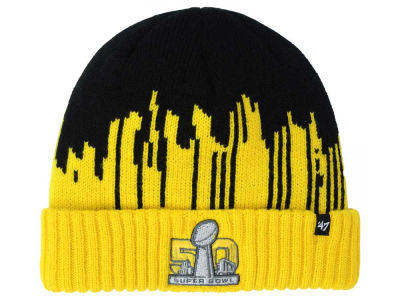 Super Bowl 50 '47 NFL Super Bowl 50 Sneakscript Cuff Knit
