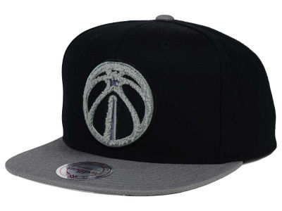 Washington Wizards Mitchell and Ness NBA Chrome 8 Chenille Snapback Cap