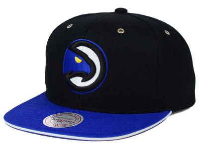 Atlanta Hawks Mitchell and Ness NBA Blue 14 Snapback Cap
