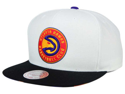 Atlanta Hawks Mitchell and Ness NBA 3X-Charm Snapback Cap