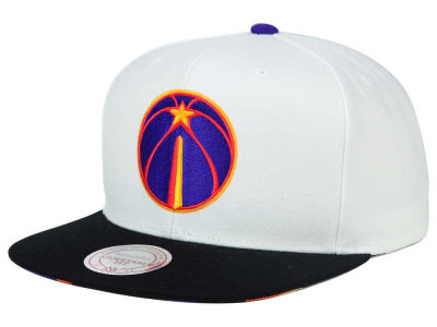 Washington Wizards Mitchell and Ness NBA 3X-Charm Snapback Cap