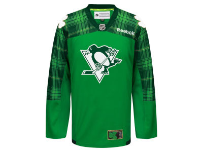 Pittsburgh Penguins Reebok NHL Men's St. Patricks Day Jersey