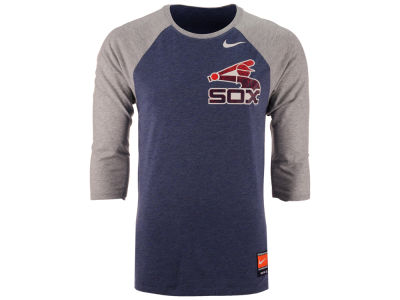 Chicago White Sox Nike MLB Men's Coop Tri-Blend Raglan Shirt