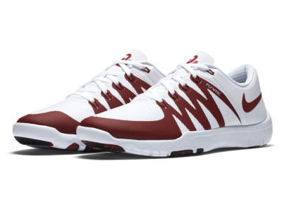 Oklahoma Sooners Nike NCAA Men's Week Zero Free Trainer 5.0 Shoes
