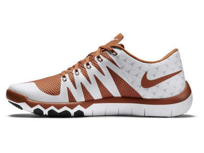 Texas Longhorns Nike NCAA Men's Week Zero Free Trainer 5.0 Shoes