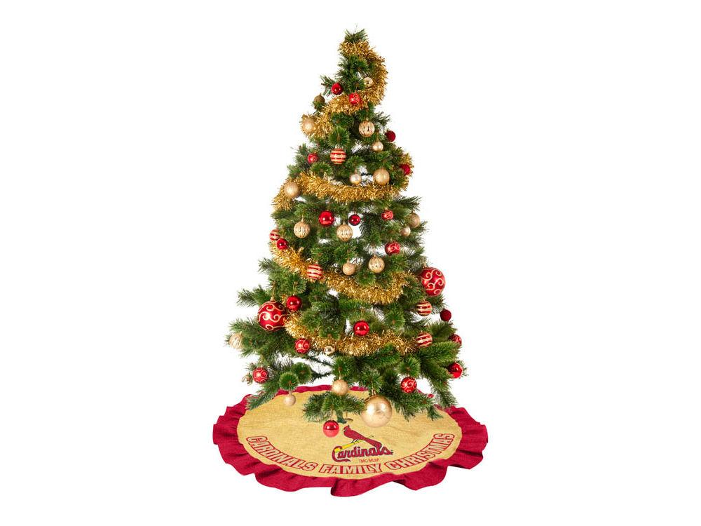 St. Louis Cardinals Tree Skirt - St. Louis Cardinals Tree Skirt Lids.com