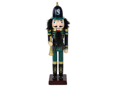 Seattle Mariners Nutcracker Figurine 12""