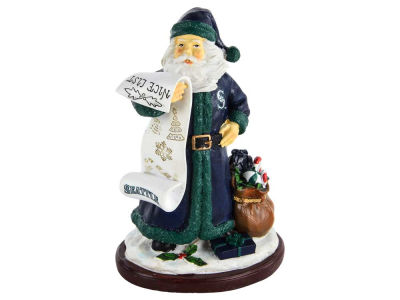 Seattle Mariners 6inch Santa Figurine