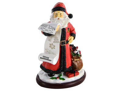 Chicago Blackhawks 6inch Santa Figurine
