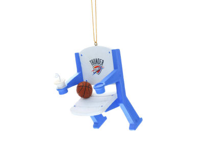Oklahoma City Thunder Stadium Chair Ornament