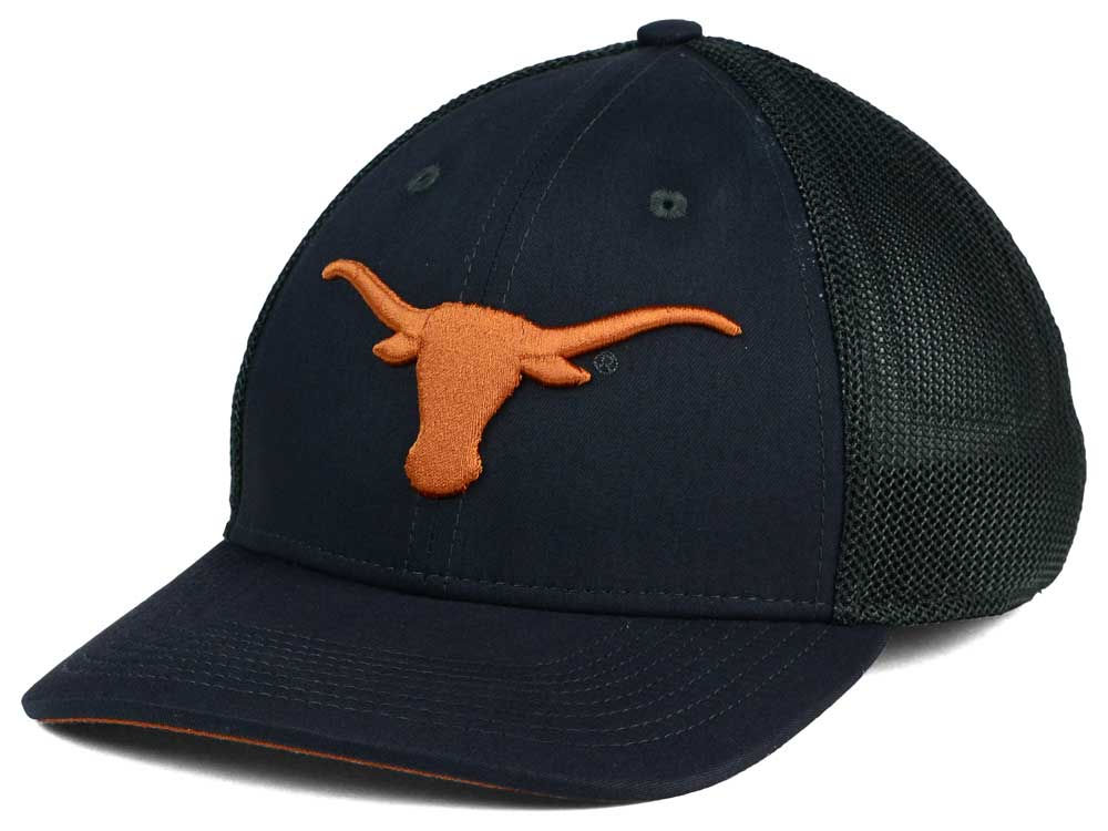 7e86edec0fb71 Texas Longhorns Nike NCAA L91 Mesh Swoosh Flex Cap