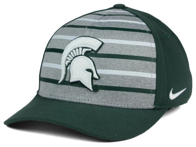 Michigan State Spartans Nike NCAA Classic Verbiage Swoosh Cap