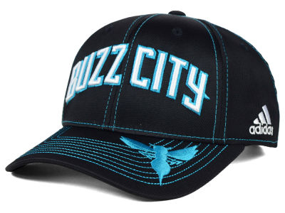 Charlotte Hornets adidas NBA 2015 Pride Jersey Hook Adjustable Cap
