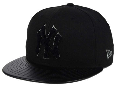 New York Yankees New Era MLB Leather Letterman 59FIFTY Cap