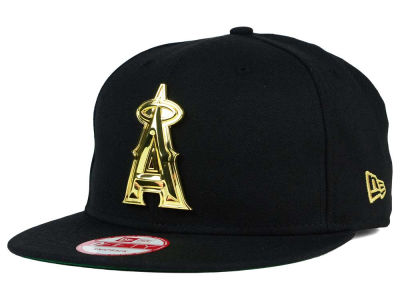 Los Angeles Angels New Era MLB League O'Gold 9FIFTY Snapback Cap
