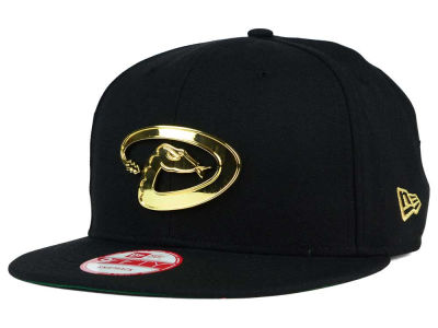 Arizona Diamondbacks New Era MLB League O'Gold 9FIFTY Snapback Cap