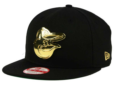Baltimore Orioles New Era MLB League O'Gold 9FIFTY Snapback Cap