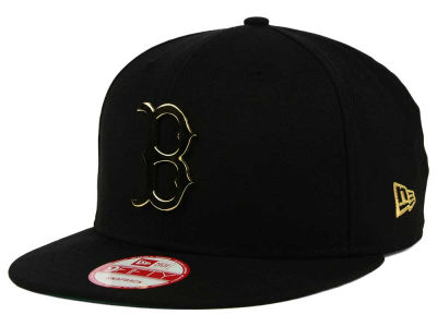 Boston Red Sox New Era MLB League O'Gold 9FIFTY Snapback Cap