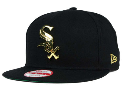 Chicago White Sox New Era MLB League O'Gold 9FIFTY Snapback Cap