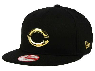 Cincinnati Reds New Era MLB League O'Gold 9FIFTY Snapback Cap