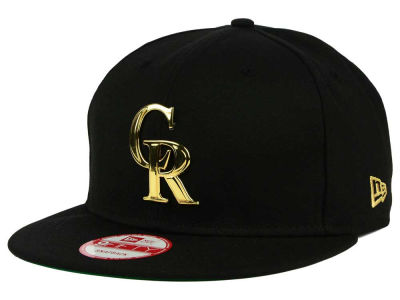 Colorado Rockies New Era MLB League O'Gold 9FIFTY Snapback Cap
