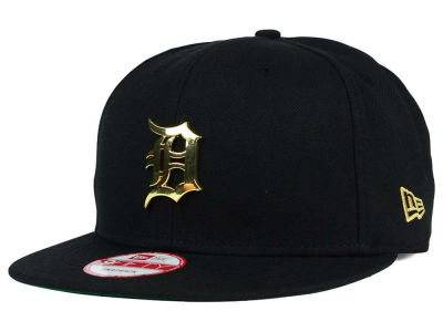 Detroit Tigers New Era MLB League O'Gold 9FIFTY Snapback Cap