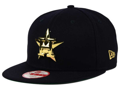 Houston Astros New Era MLB League O'Gold 9FIFTY Snapback Cap