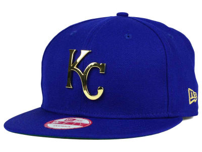 Kansas City Royals New Era MLB League O'Gold 9FIFTY Snapback Cap