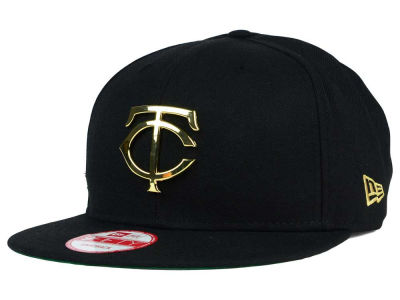 Minnesota Twins New Era MLB League O'Gold 9FIFTY Snapback Cap