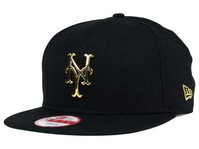 New York Mets New Era MLB League O'Gold 9FIFTY Snapback Cap