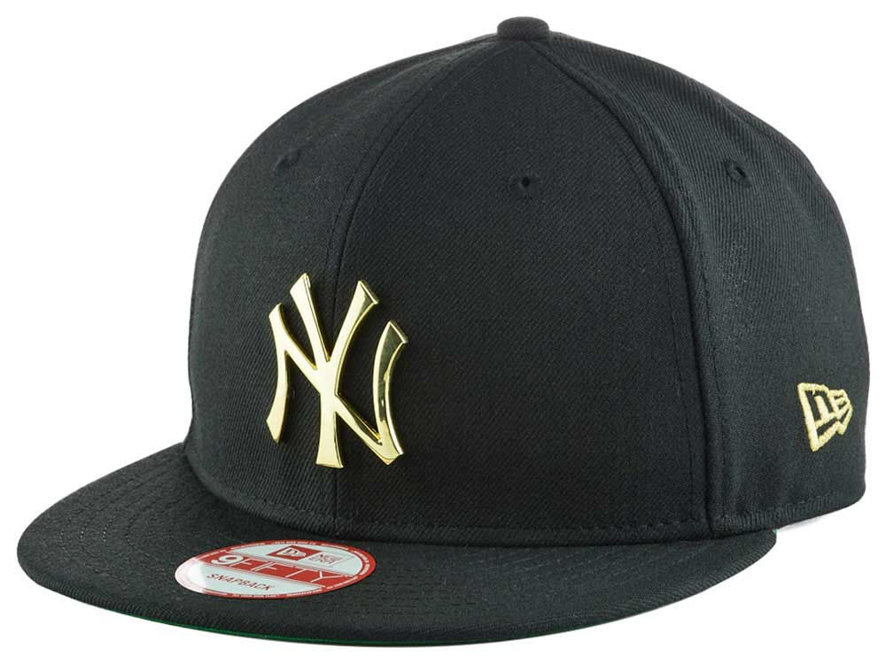 New York Yankees New Era MLB League O Gold 9FIFTY Snapback Cap ... a9ecd5b0e57b